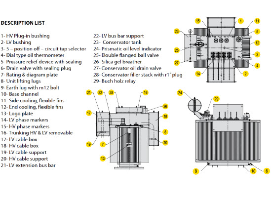 ground mounted tranansformer 2 549px Technical Drawings