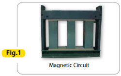 magnetic circuit 250 Technical Features